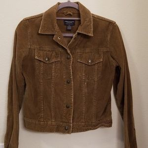 American Eagle Outfitters brown corduroy jacket